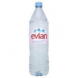 Evian 6 x 2lt Pet