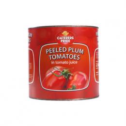 Caterers Pride Whole Plum Tomatos