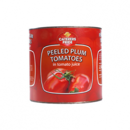 Caterers Pride Whole Plum Tomatos 800g