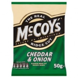 McCoy's Cheddar and Onion