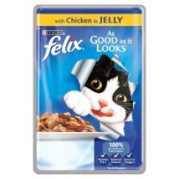 Felix As Good As It Looks Pouch - Chicken