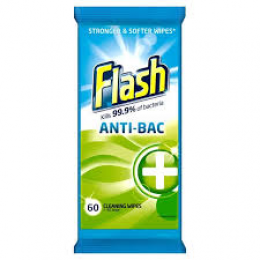 Flash Wipes Strong Weave Antibacterial