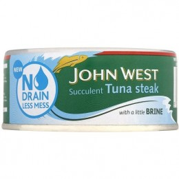 John West No Drain Tuna In Brine