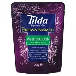 Tilda Steamed Basmati Rice - Brown