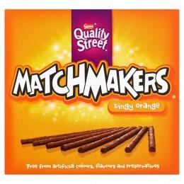 Quality Street Matchmakers Zingy Orange